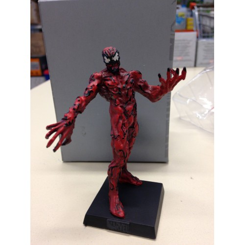carnage figurine marvel en plomb collection eaglemoss. Black Bedroom Furniture Sets. Home Design Ideas