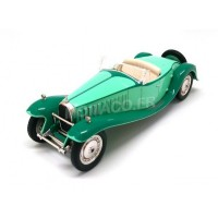 "1/43 VOITURE MINIATURE DE COLLECTION BUGATTI TYPE 41 ROYALE ROADSTER ""ESDERS"" 1932-ODEON024"