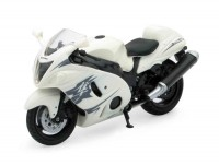 1/18 MOTO MINIATURE DE COLLECTION SUZUKI GSX 1300 R Hayabusa-2010-NEWRAY