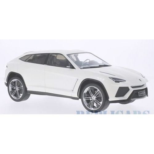 1 18 voiture miniature de collection lamborghini urus blanche mdg vente de voitures miniatures. Black Bedroom Furniture Sets. Home Design Ideas