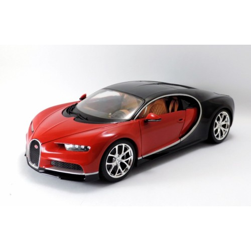 1 18 voiture miniature bugatti chiron rouge 2016 burago vente de voitures miniatures pour. Black Bedroom Furniture Sets. Home Design Ideas