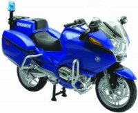 1/18 MOTO MINIATURE DE COLLECTION BMW R 1200 Gendarmerie-NEWRAY