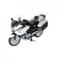 1/18 MOTO MINIATURE DE COLLECTION BMW R 1200 Police-NEWRAY