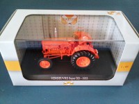1/43 AGRICOLE MINIATURE DE COLLECTION TRACTEUR VENDEUVRE SUPER DD-1955-UH