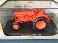 1/43 AGRICOLE MINIATURE DE COLLECTION TRACTEUR VENDEUVRE SUPER GG70-1956-UH