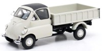 1/43 VEHICULE MINIATURE DE COLLECTION Iso Isetta Carro pick-up beige-1957-MATRIX