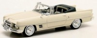 1/43 VOITURE MINIATURE DE COLLECTION Chrysler Dual Ghia cabriolet blanc-1957-MATRIX