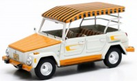 1/43 volkswagen thing edition hawai 1979 blanc/or