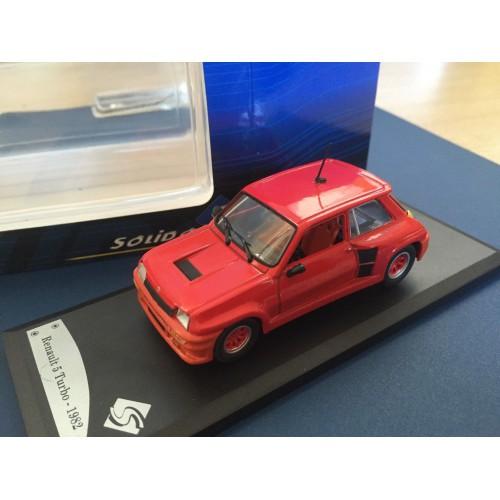 1 43 voiture miniature de collection renault 5 turbo 1982 solido vente de voitures miniatures. Black Bedroom Furniture Sets. Home Design Ideas
