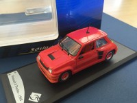 1/43 VOITURE MINIATURE DE COLLECTION RENAULT 5 TURBO 1982 SOLIDO