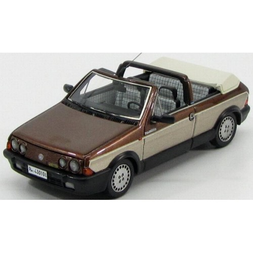 1 43 voiture miniature de collection fiat ritmo 100s cabriolet marron m tallis 1985 vente de. Black Bedroom Furniture Sets. Home Design Ideas