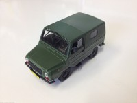 1/43 VEHICULE MINIATURE DE COLLECTION ŁUAZ 969M-DE AGOSTINI