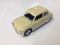 1/43 VOITURE MINIATURE DE COLLECTION AWZ P70 SEDAN-DE AGOSTINI