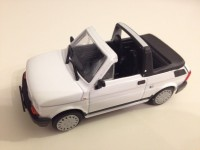 1/43 VOITURE MINIATURE DE COLLECTION FIAT 126P CABRIOLET-DE AGOSTINI