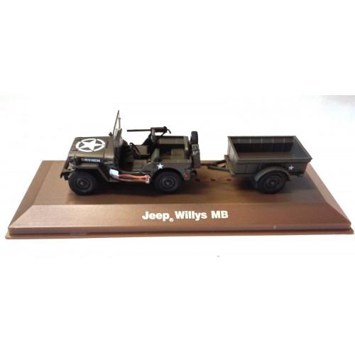 1 43 miniature de collection militaire jeep willys mb atlas vente de voitures miniatures pour. Black Bedroom Furniture Sets. Home Design Ideas