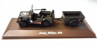 1/43 MINIATURE DE COLLECTION MILITAIRE JEEP WILLYS MB-ATLAS
