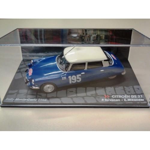 1 43 voiture miniature de rallye citroen ds21 rally monte. Black Bedroom Furniture Sets. Home Design Ideas