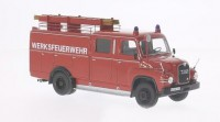 1/43 CAMION MINIATURE DE COLLECTION Man 415 TLF pompier de BERLIN-NEO-