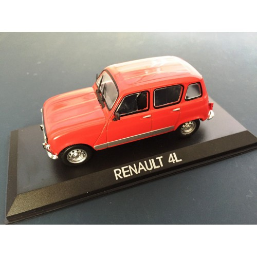 1 43 voiture miniature de collection renault 4l ixo. Black Bedroom Furniture Sets. Home Design Ideas