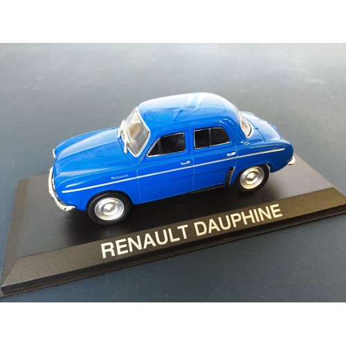 1 43 voiture miniature renault dauphine bleu ixo vente. Black Bedroom Furniture Sets. Home Design Ideas