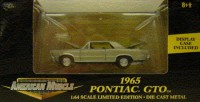 1/64 VOITURE MINIATURE Pontiac GTO or-1965-AMERICAIN MUSCLE-ERTL