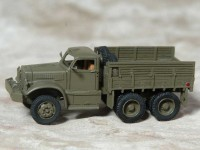 1/87 HO MINIATURE DE COLLECTION CAMION MILITAIRE DIAMOND CARGO