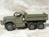 1/87 HO MINIATURE DE COLLECTION CAMION MILITAIRE DIAMOND DUMP