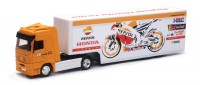 1/43 CAMION MINIATURE DE COLLECTION Mercedes Actros team Repsol Honda moto GP-2017-NEWRAYNWR15883