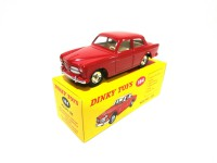 VOITURE MINIATURE DE COLLECTION Volvo 122S rouge - DINKY TOYS - NOREV-184