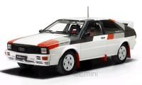 1/18 VOITURE MINIATURE DE COLLECTION Audi Quattro blanc-1982-IXOMODELSIXO18CMC011