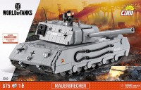 Jeux de construction FORCES DE L'ORDRE World of Tank - Mauerbrecher - 875 pièces, 1 figurine-COBICOB3032