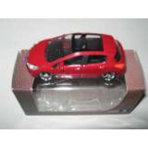 1 64 3 inches peugeot 308 rouge norev vente de voitures miniatures pour collectionneurs. Black Bedroom Furniture Sets. Home Design Ideas
