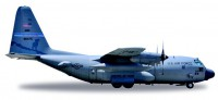 1/500 AVION FORCES DE L'ORDRE MILITAIRE Lockheed C-130H Hercules U.S. Air Force Nevada ANG High Rollers-HERPAHER530651