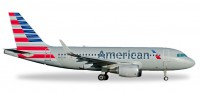 1/500 AVION MINIATURE DE COLLECTION Airbus A319 American Airlines N8001N 6.8cm-HERPAHER530835