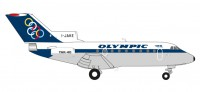 1/200 AVION MINIATURE DE COLLECTION  Yakovlev Yak-40 Olympic Airways - I-JAKE 10.20 cm-HERPAHER558921
