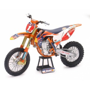 1/10 MOTOCROSS MINIATURE DE COLLECTION KTM 450 SX-F Red Bull #1-2017-NEWRAYNWR57953