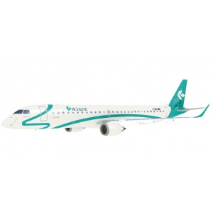 1/100 Kit prépeint AVION MINIATURE DE COLLECTION Embraer E195 Air Dolomiti - modèle à emboiter-HERPAHER609821