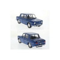 1/18 RENAULT 8 VOITURE MINIATURE DE COLLECTION RENAULT 8 GORDINI 1100 - 1967-BLEUE-SOLIDO 1803602