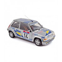 1/18 RENAULT 5GT VOITURE MINIATURE DE COLLECTION RENAULT 5GT TURBO TOUR DE CORSE-NOREV:185202