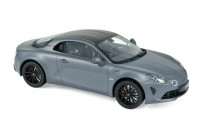 1/18 ALPINE - RENAULT A110 S- 2019-Matt Grey / Carbon Roof-NOREV185313