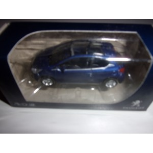 1/64 VOITURE MINIATURE DE COLLECTION 3INCHES PEUGEOT 208 3PORTES VIOLET NOREV314746