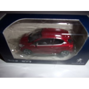 1/64 VOITURE MINIATURE DE COLLECTION 3INCHES PEUGEOT 208 GTI 2012 ROUGE NOREV314744