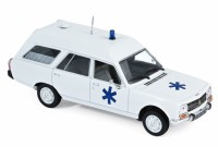 1/43 VEHICULES DE SECOURS MINIATURE DE COLLECTION Peugeot 504 Break Ambulance-1979-NOREVNOR475442