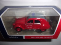 1/54 3-INCHES CITROEN 2CV POMPIERS SERVICE DEPARTEMENTAL DE SECOURS ET INCENDIES NOREV319251