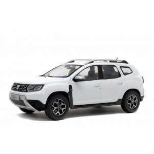 1/18 DACIA MINIATURE DE COLLECTION DACIA DUSTER - 2018-BLANC SOLIDO 1804602