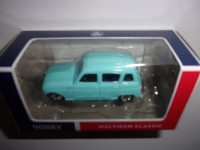 1/54 3-INCHES VOITURE MINIATURE DE COLLECTION RENAULT 4L 1964 BLEU-NOREV319251