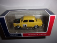 1/54 3-INCHES VOITURE MINIATURE DE COLLECTION SIMCA 1000 RALLYE N°34 JAUNE-NOREV319251