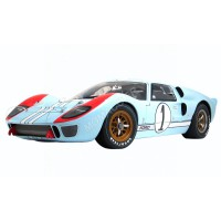 1/12 FORD GT 40 MKII 1 KEN MILES DENNY HULME LE MANS 1966 2ND-ACME1201003