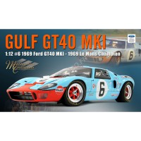 "1/12 FORD GT40 MKI 6 ""GULF"" JACKY ICKX LE MANS 1969 1ER-ACME1201006"