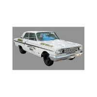 1/18 FORD VÉHICULES MINIATURE DE COLLECTION FORD THUNDERBOLT HEMI HUNTER 1964-ACME1801108